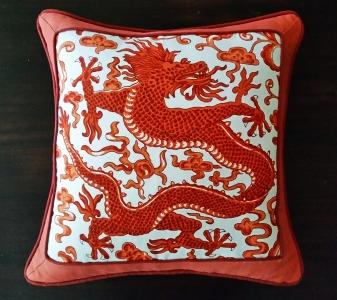 framed border pillow