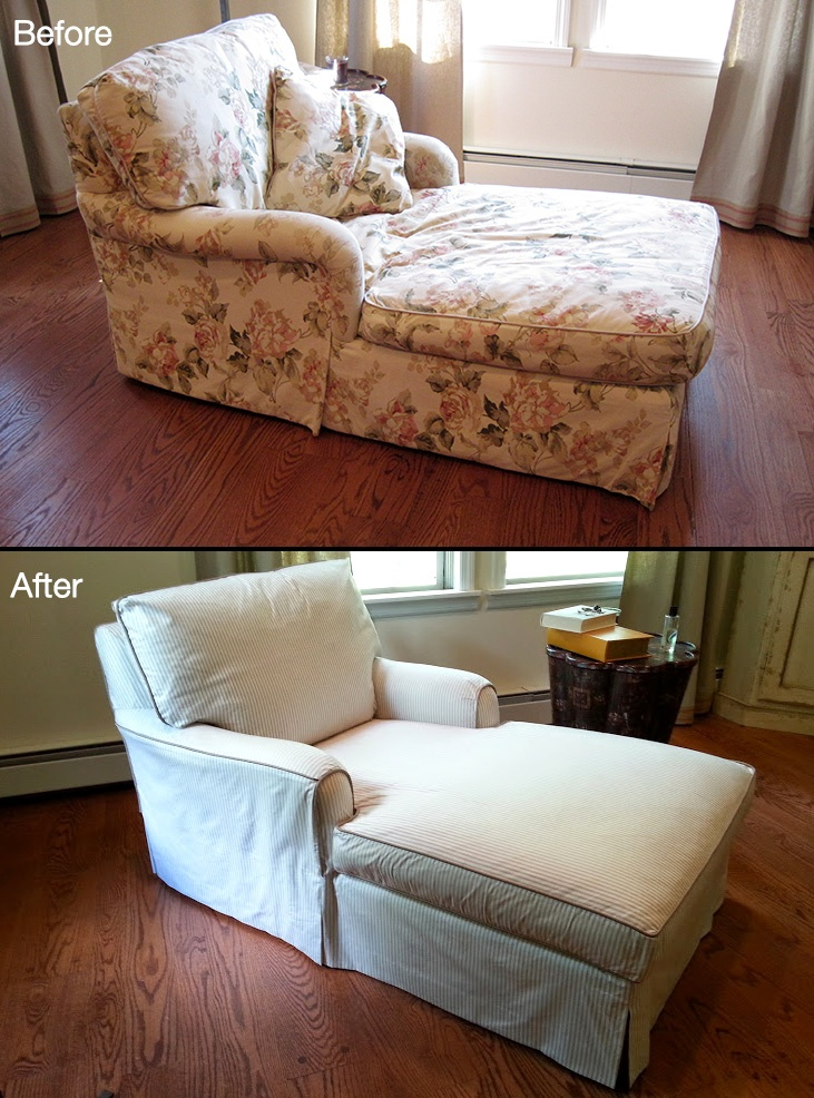 Gallery windham stitches for Chaise lounge cushion slipcovers