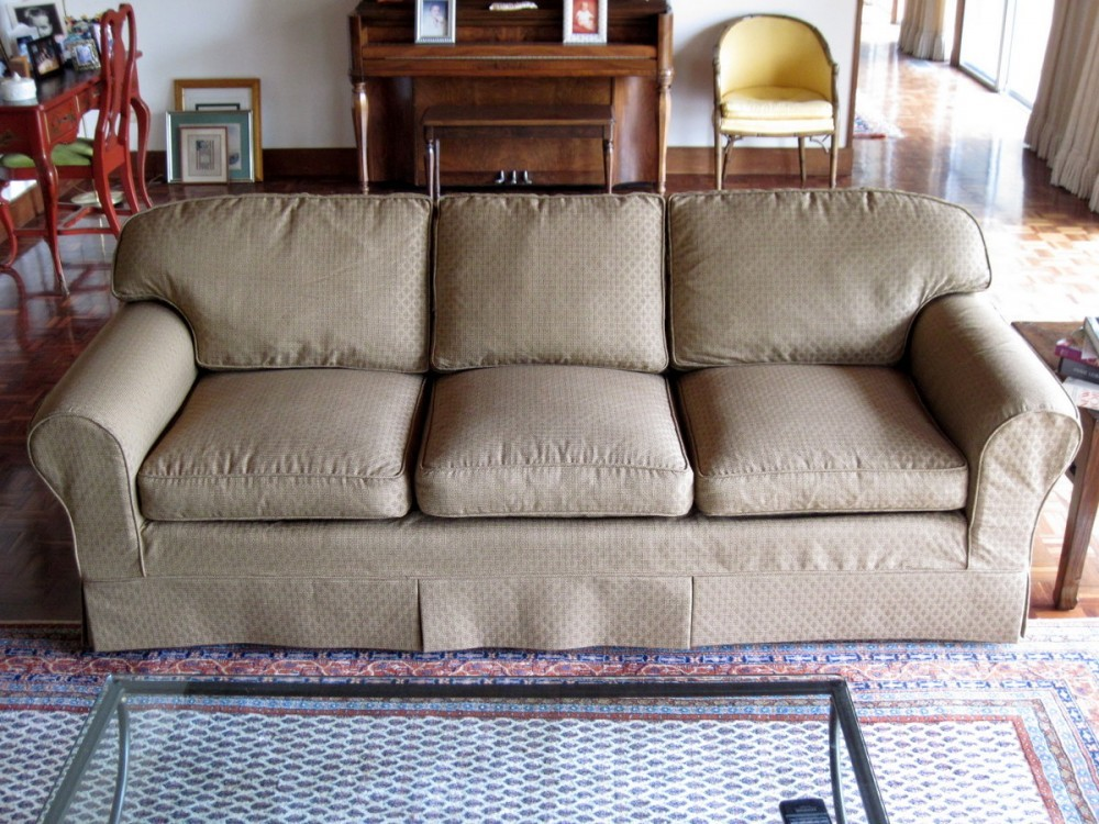 custom slipcovers sofa sofa for with custom slipcovers or diy sectional thesofa. Black Bedroom Furniture Sets. Home Design Ideas